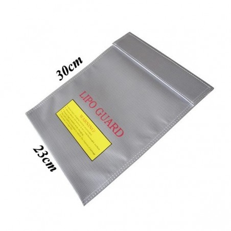 LiPo Batteries safety bag 230x300mm RC15021