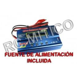 Cargador - Balanceador iMAX B6 - CON FUENTE 12V 5A