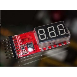 Indicador de voltaje de bateria para Li-Po