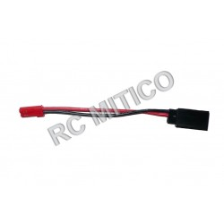 Cable conector JST Macho a FUTABA Hembra