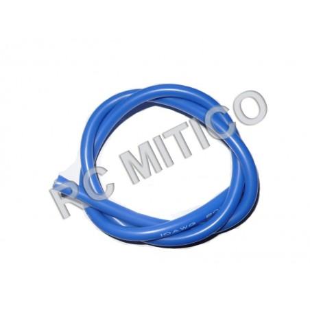 Cable de Silicona 12 AWG Azul - 50 cm