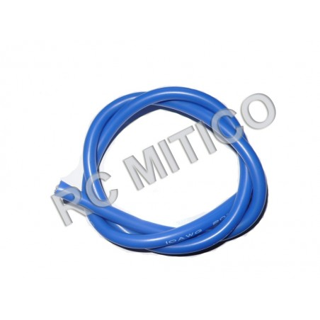Silicon wire 12 AWG Blue - 50 cm