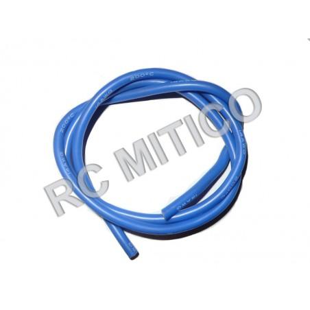 Cable de Silicona 14 AWG Azul - 50 cm