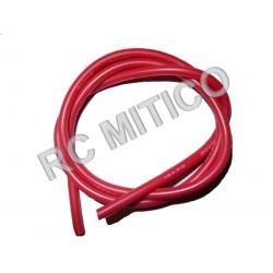 Cable de Silicona 14 AWG Rojo - 50 cm