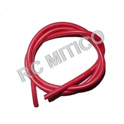 Silicon wire 14 AWG Red - 50 cm