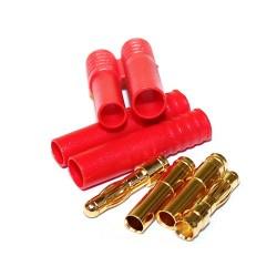 Conectores HXT Banana 4 mm - 2 unidades