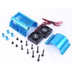 0261BU - Ventiladores + Disipador 40.8 mm