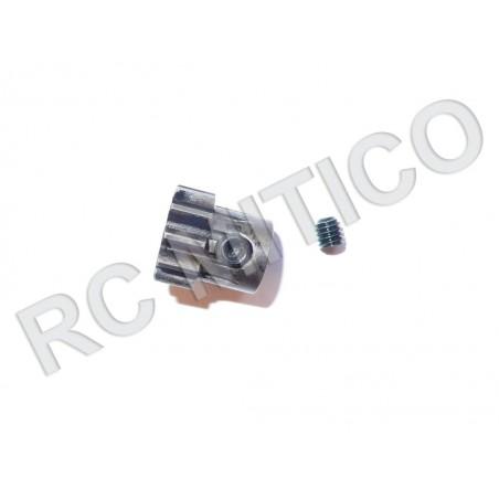 Piñon de Acero 11 dientes - ACERO - Modulo 1