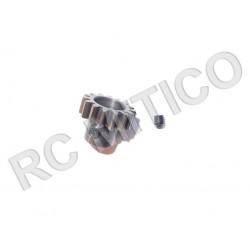Piñon de Acero 15 dientes - ACERO - Modulo 1
