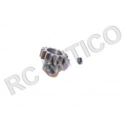 Piñon de Acero 18 dientes - ACERO - Modulo 1
