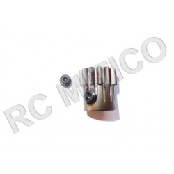 Piñon de Acero 13 dientes - ACERO - 32 Pitch