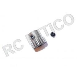 Piñon de Acero 15 dientes - ACERO - 32 Pitch