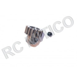 Piñon de Acero 17 dientes - ACERO - 32 Pitch