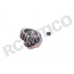 Piñon de Acero 21 dientes - ACERO - 32 Pitch