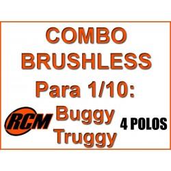 Combo HOBBYWNG + Motor RCM 3650 3100 KV