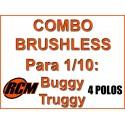 Combo HOBBYWING + Motor RCM 3650 3900 KV