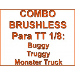 Combo Hobbywing + Motor RCM 4068 2220 KV