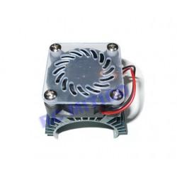 Disipador de Aluminio motores de 36 mm - 4x4 cm