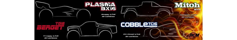 Coches Brushless Radiocontrol 1/16