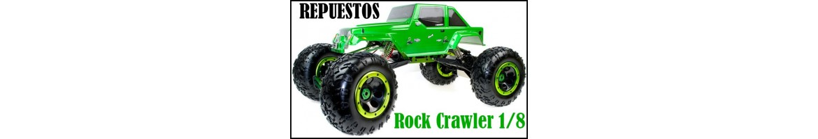 Repuestos Crawler 1/8 HSP, HIMOTO, etc...