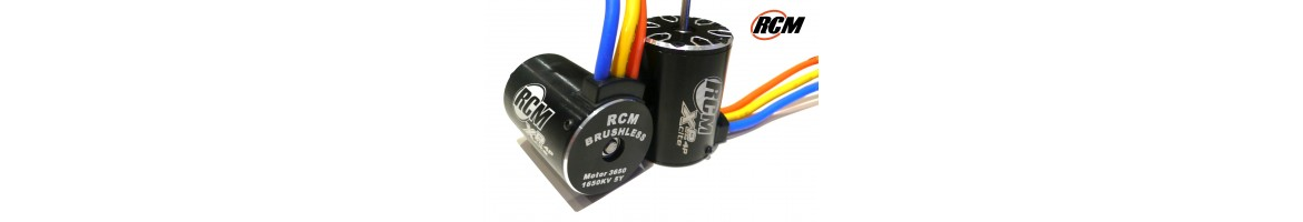 Motores Brushless RCM para Coches RC 1/10