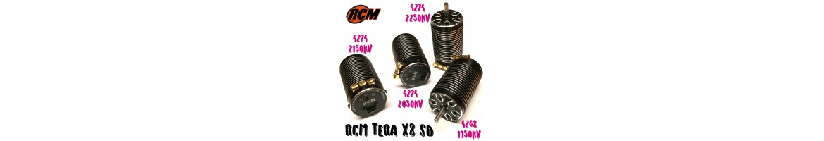 Motores Brushless RCM para Coches RC 1/8