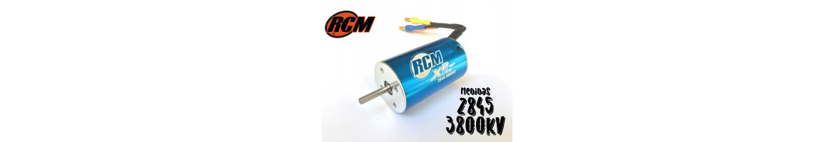Motores Brushless RCM para Coches RC 1/12 - 1 /14