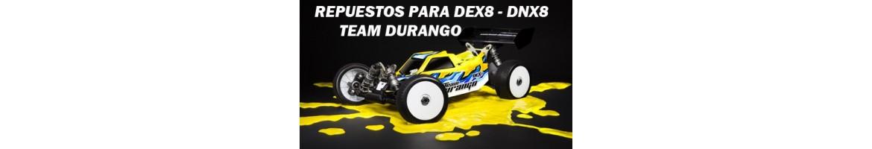 Repuestos para Team Durango DEX8