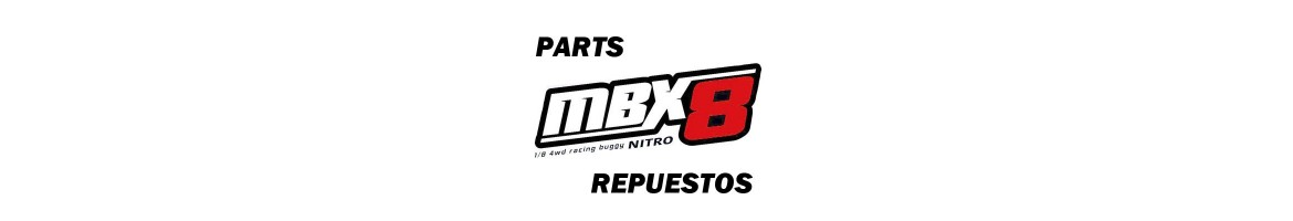 Spare parts for MBX8