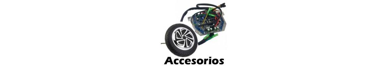 Accesorios y Repuestos para Patinetes electricos