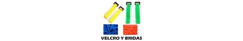 Velcro y Bridas