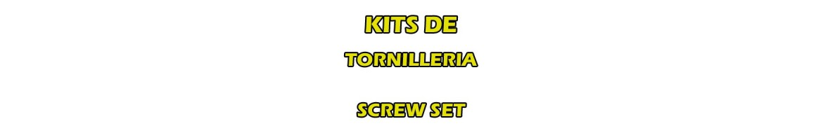 Screw set for RC cars