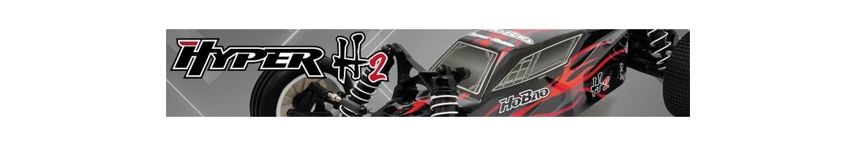 Recambios para Buggy HoBao Hyper H2 RTR y Pro