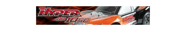 Recambios para HoBao Hyper 10 SC Short Course Nitro y Electrico