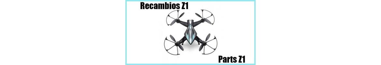 Recambios para Drone Z1
