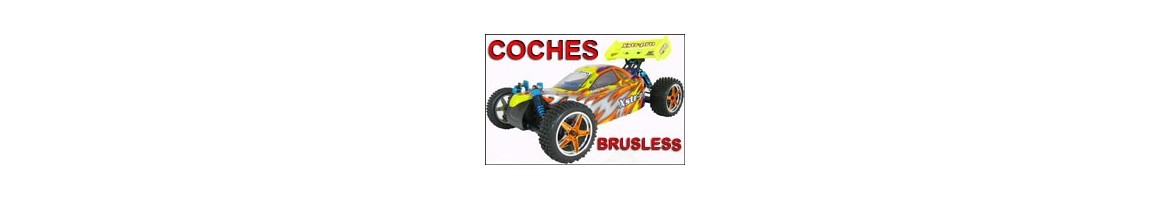 Coches Radiocontrol Electricos - BRUSHLESS