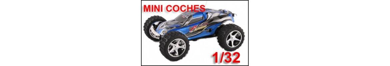 Coches Radiocontrol 1/32 - 1/64