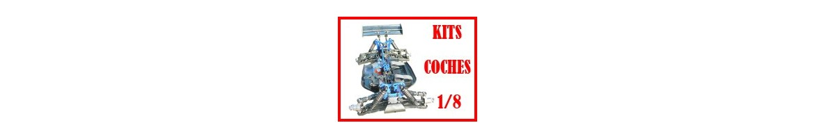 Kits 1/8 - Coches Radiocontrol en KIT
