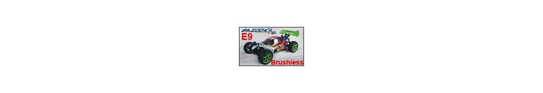 Repuestos Buggy Bazooka E9 1/8  Exclusivo RCMITICO
