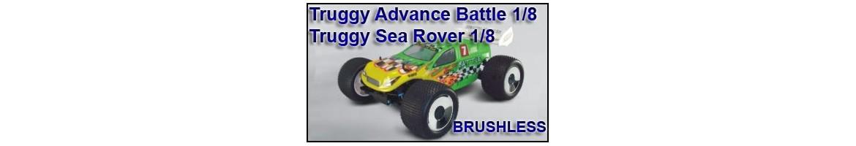 Repuestos para Truggy Advance 1/8 TT 4x4 BRUSHLESS