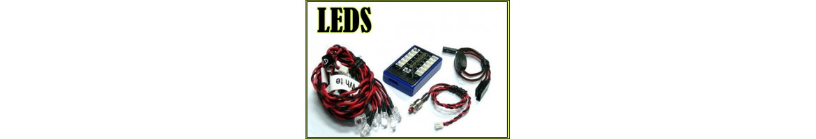 Luces LED para coches RC