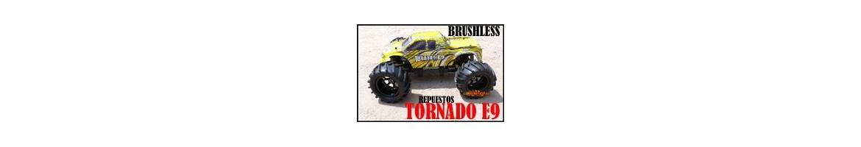 Repuestos Monster Truck Tornado 1/8  HSP, HIMOTO