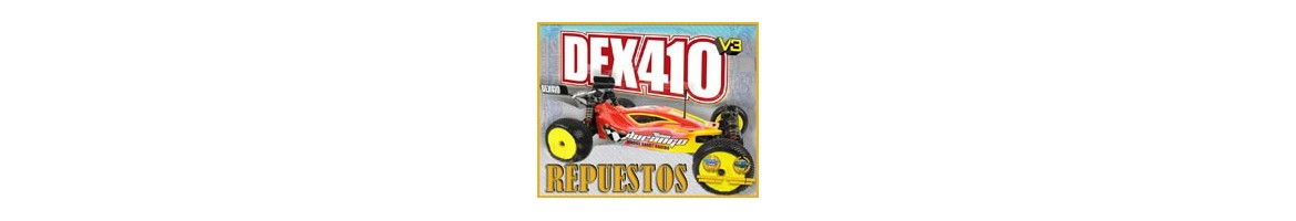 Repuestos Team Durango DEX410
