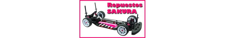 Repuestos para Sakura Zero y Sakura Zero S
