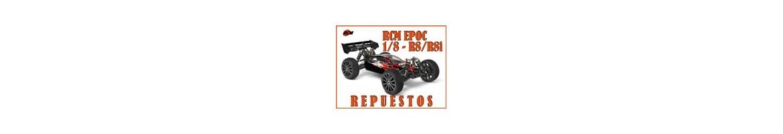 Repuestos RCM Epoc 1/8 R8 y R8i