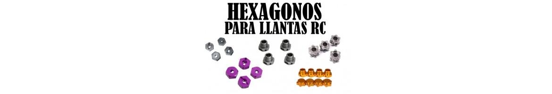 Hexagonos de llanta - Tuercas