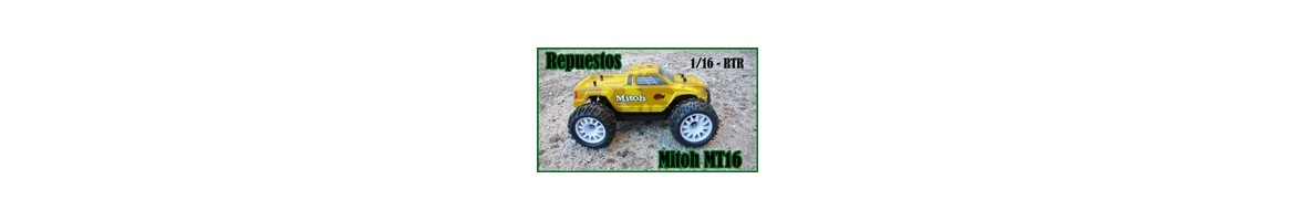 Repuestos para RCM Monster Truck Mitoh MT16