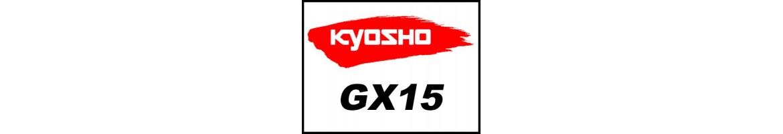 Repuestos para motor Kyosho GX15