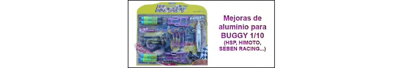 Upgrades de Aluminio para Buggy 1/10