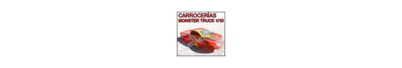 Carrocerias para Monster Truck y Crawler 1/10 - Radiocontrol